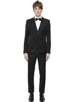 Dolce & Gabbana - Wool Gabardine 3 Piece Suit