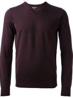 Emporio Armani - V-neck Sweater