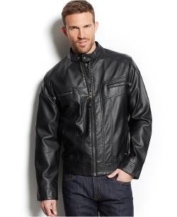 Calvin Klein  - Four Pockets Moto Jacket