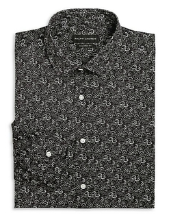 Ralph Lauren Black Label - Floral-Print Dress Shirt