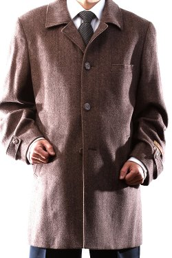 Prontomoda - Wool Cashmere Topcoat