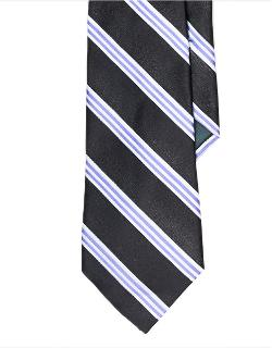 Ralph Lauren  - Striped Satin Tie