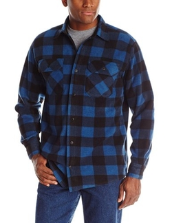 Wrangler  - Authentics Long-Sleeve Plaid Fleece Shirt