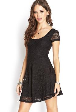 Forever 21 - Lace Skater Dress
