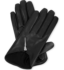 Causse Gantier - Short Zipped Leather Gloves
