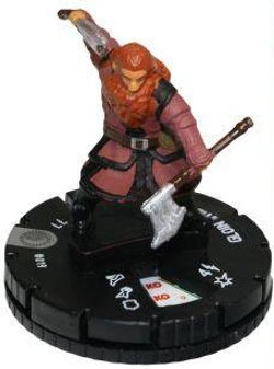 Heroclix - Gloin The Dwarf With Character Card