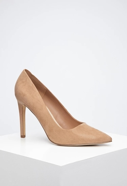 Forever 21 - Pointed Faux Suede Pumps