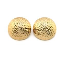 Nyfashion101 - Hammered Half Ball Stud Earrings