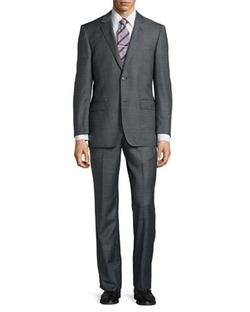 Neiman Marcus  - Modern-Fit Two-Piece Suit