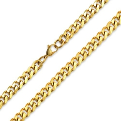 Bling Jewelry - Mens Cuban Wide Link Chain Necklace