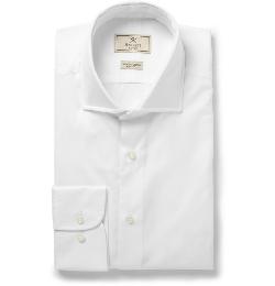 Hackett - Mayfair Slim-Fit Cotton-Poplin Shirt