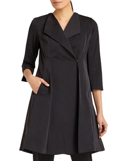 Lafayette 148 New York - Judith Pleated Fit & Flare Coat