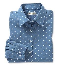 Orvis - Wrinkle-Resistant Polka Dot Shirt