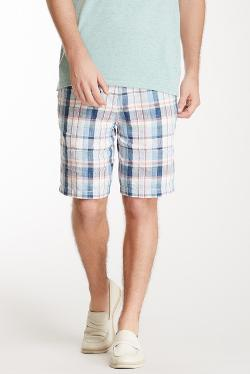 Tommy Bahama  - Bridgeport Plaid Linen Short