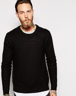 Dr Denim - Weave Textured Knit Sweater