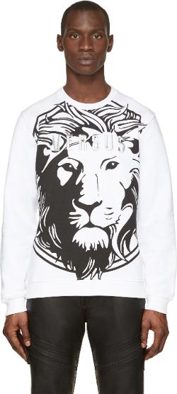 Versus   - Lion Print Sweatshirt