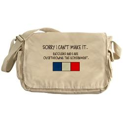 CafePress - Barricade Boys Messenger Bag