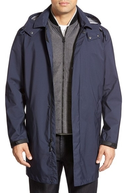 Cole Haan  - 3-in-1 Longline Rain Jacket