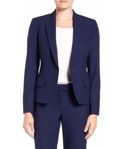 Anne Klein - One-Button Suit Jacket