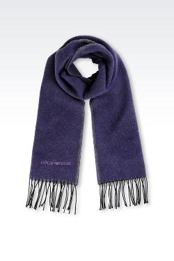 Emporio Armani - Scarf in Virgin Wool