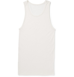 The Elder Statesman - Cashmere and Silk Blended Tank Top