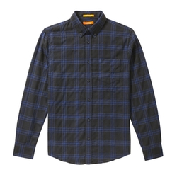 Joe Fresh - Men's Dark Plaid Flannel Shirt