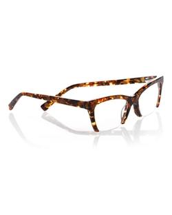 Eyebobs  - Flat Cat Semi-Rimless Cat-Eye Readers