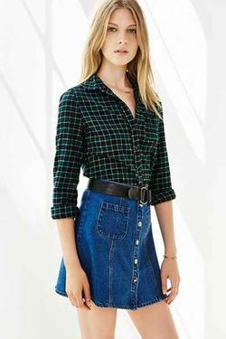 BDG - Katie Flannel Button-DownShirt