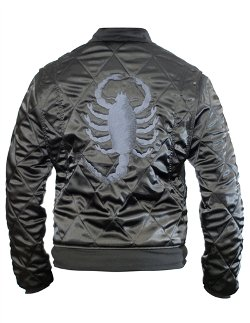 """Steady Clothing - """"Drive"""" Mens Stealth Replica Racer Jacket"""