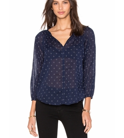 Velvet by Graham & Spencer - Berlina Printed Cotton Top