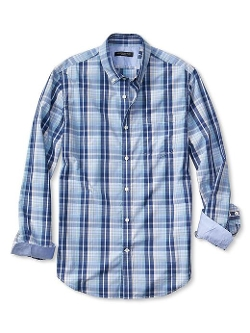 Banana Republic - Slim-Fit Soft-Wash Plaid Shirt