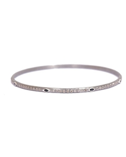 Armenta	  - Station & Diamond Bangle Bracelet