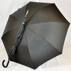 The Indestructible Umbrella  - Carbon Fiber Walking Stick Curved Handle Defense Umbrella
