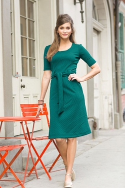 Shabby Apple - Dauphine Dress Green