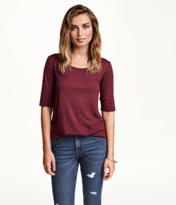 H & M - Jersey Top