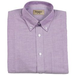 Haggar - Easy-Care Button-Down Collar Dress Shirt