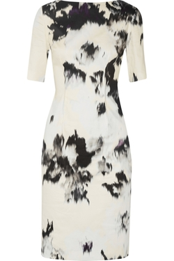 Lela Rose - Floral-Print Cotton Dress