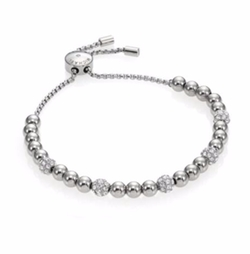 Michael Kors  - Brilliance Pavé Beaded Slide Bracelet