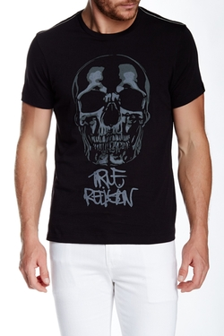 True Religion - Graf Skull Short Sleeve Tee