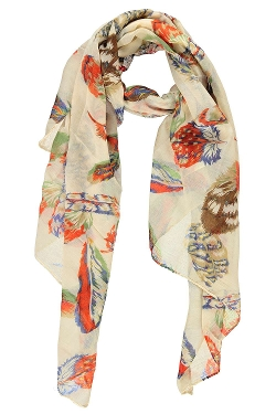 BooHoo - Amy Feather Lightweight Scarf