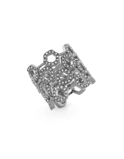 Louise Et Cie - Stone Metal Embellished Ring