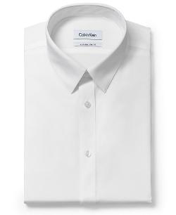 Calvin Klein  - Extra Slim Solid Dress Shirt