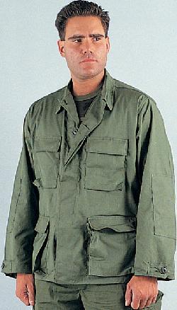galaxyarmynavy - Olive Drab - Military BDU Shirt