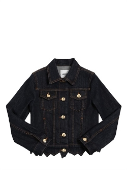 Moschino  - Stretch Cotton Denim Jacket