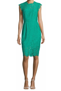 Rachel Zoe  - Floral Lace Cocktail Dress