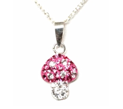 Decorum Jewellery - Crystal Mushroom Necklace