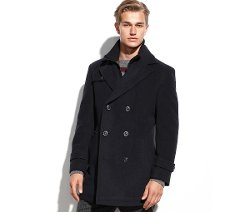 Lauren Ralph Lauren - Labrada Double-Breasted Wool-Blend Pea coat