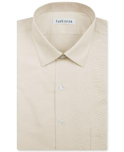 Van Heusen  - Herringbone Solid Dress Shirt