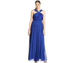 Alex Evenings  - Sleeveless Jewel Halter Gown