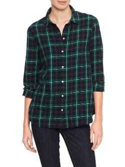 Gap Factory - Plaid Flannel Shirt